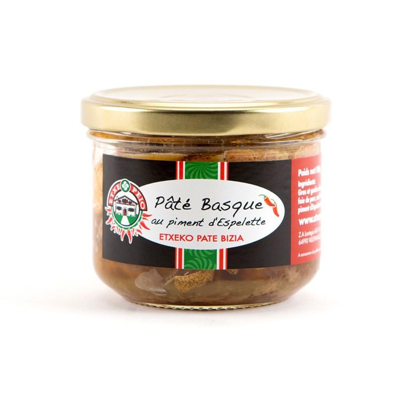Pâté Basque au Piment d'Espelette 180g
