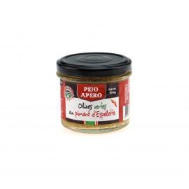 Tapenade Olives Vertes au Piment d'Espelette 100g