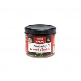 Tapenade Olives Noires au Piment d'Espelette 100g
