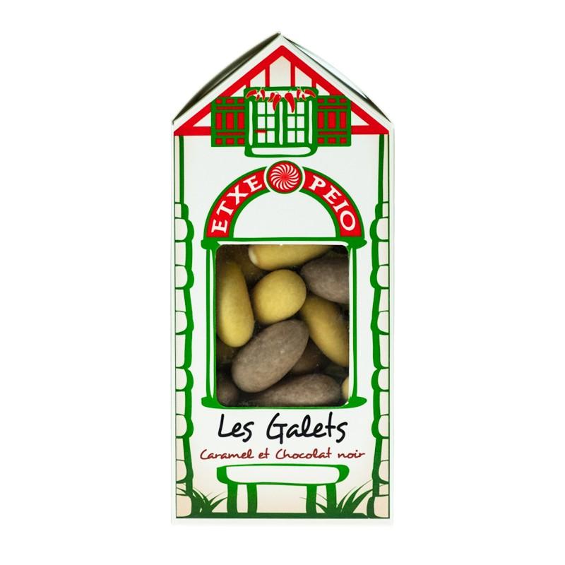 Galets au Caramel Beurre Salé & Chocolat Noir 130g