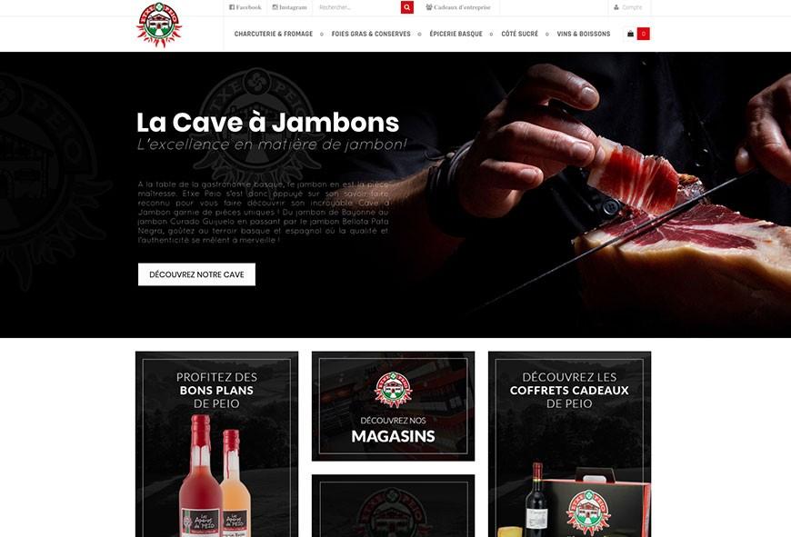 Etxepeio.com fait peau neuve avec un tout nouveau site internet!